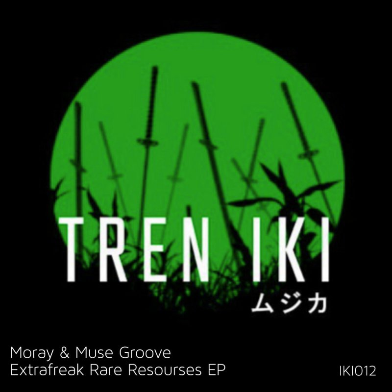 Canarian artist Moray and Tenerife duo Muse Groove, are the stars of Tren iki's 12th release, entitled Extrafreak Rare Resources EP.