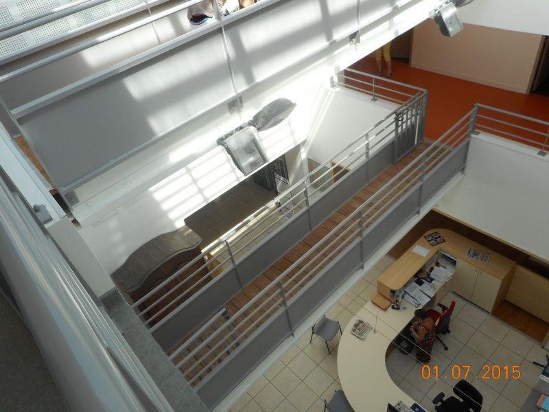 Fabrication de verrire  mezzanine intrieure en mtal  Mtallerie sur Valence  VALETTE
