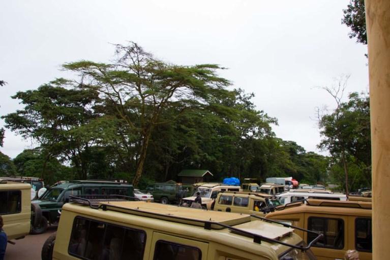 Ngorongoro Entrance