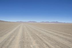 Road Salar de Tara