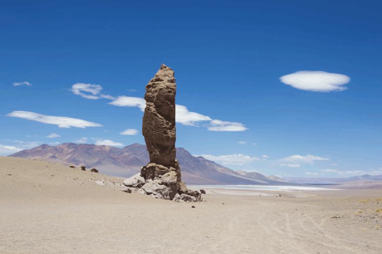 Stone Pillar Salar de Tara