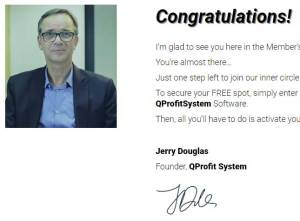 Jerry-Douglas of Qprofit system-Not-a-Trader