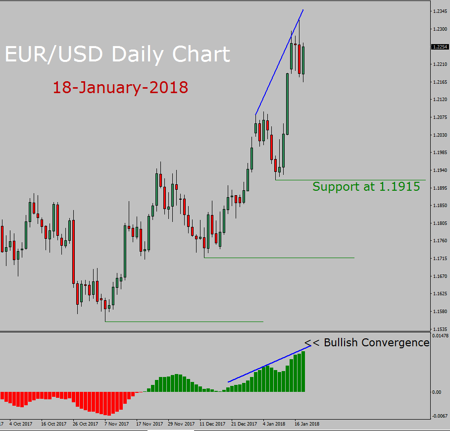 EUR/USD Long Term Forecast: 18th January to 31st January 2018 - Valforex.com