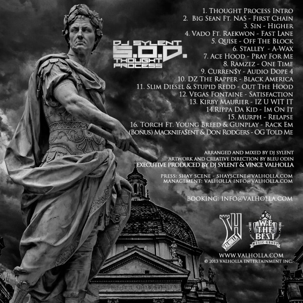 DJ Sylent - SOD Thought Process [Back Cover]