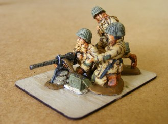 Painted 30cal team