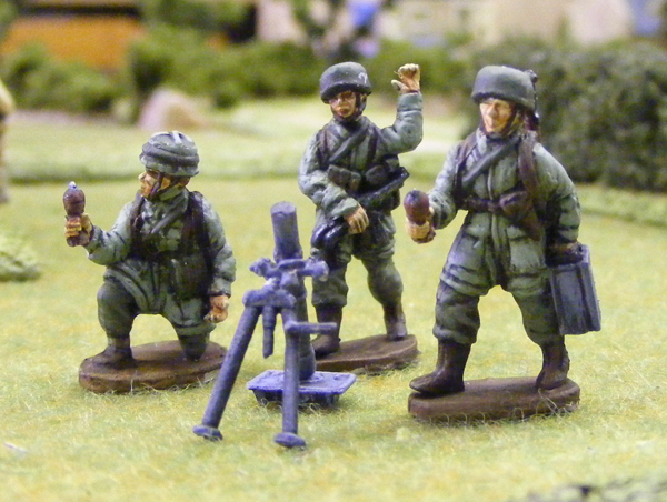 German Para Tripod MG34 Team - Valiant Miniatures