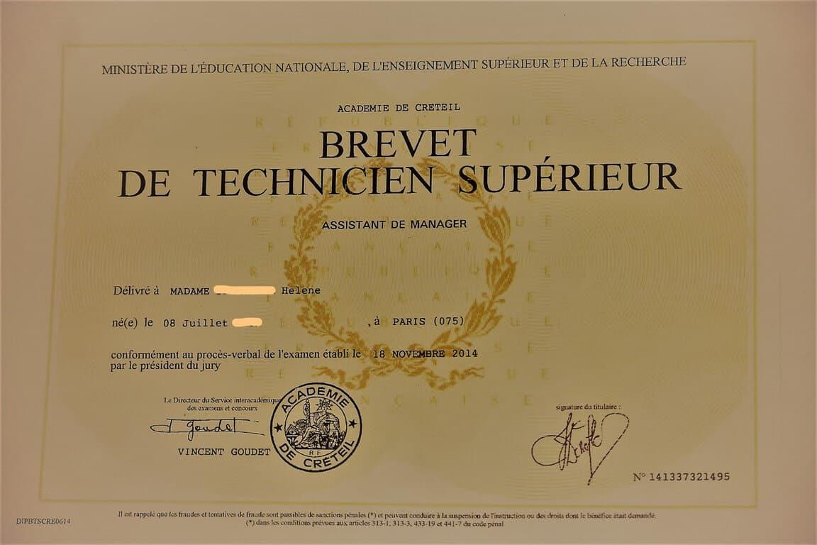 diplome bts assistant manager validersavae.fr