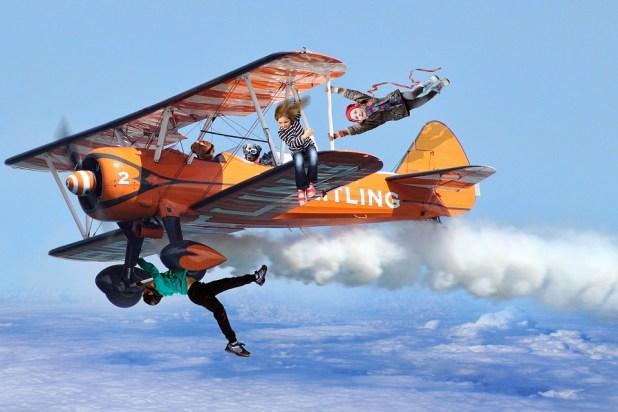 aereo bambini