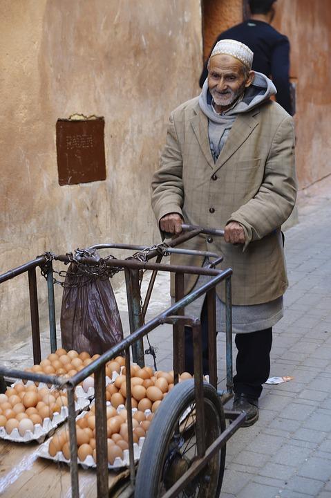la capitale del Marocco