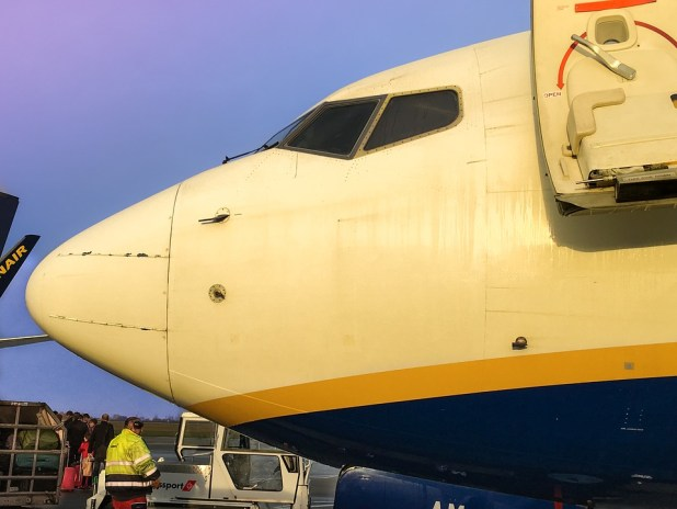 ryanair check in on line