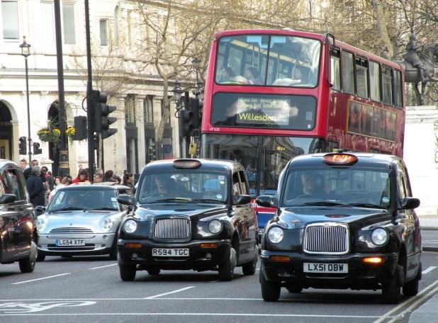 taxi inglesi