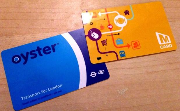 traveller card londra