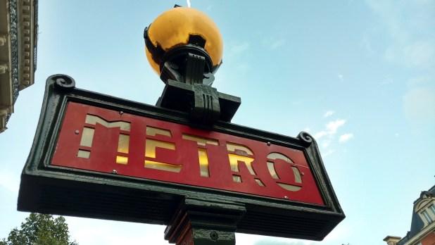 metro parigi zone
