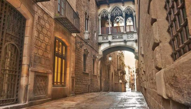Barri Gotic_Barcellona