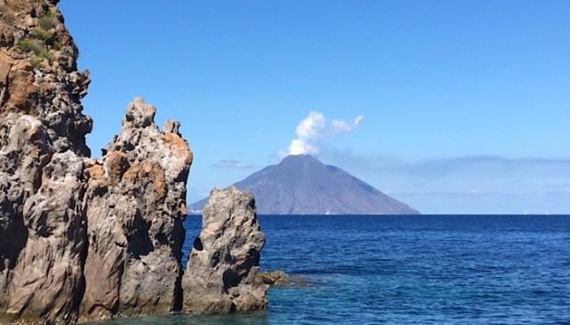 Panarea, Isole Eolie - Vista Stromboli