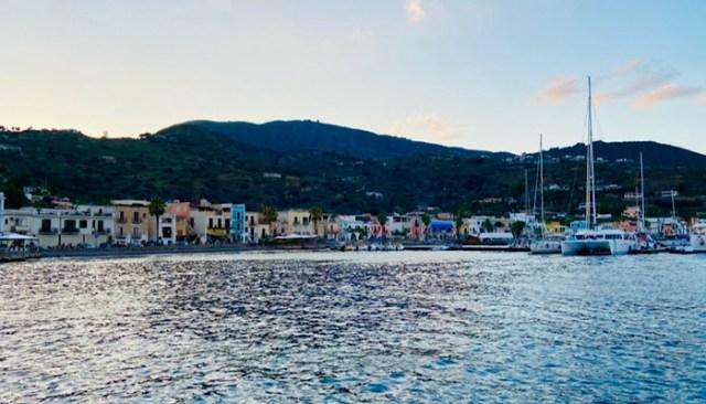 Porto di Rinella, Isola di Salina