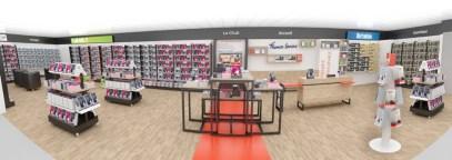 Concept d'aménagement de librairie - VALIN