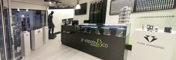 Amenagement d'une boutique pour cigarettes électronique - VALIN