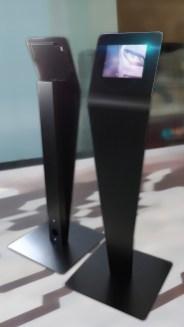 Borne digital tactile fabrication VALIN - Borne numerique interactive