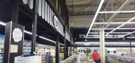 Habillage de zones traditionnelles Halles de JARDRES – Conception et fabrication VALIN