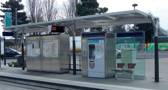 Conception et fabrication d'un arret de train pour la SNCF par Ouest Industrie
