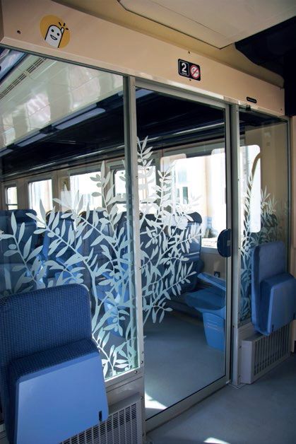 Aménagement de cabine de train par Ouest-Industrie