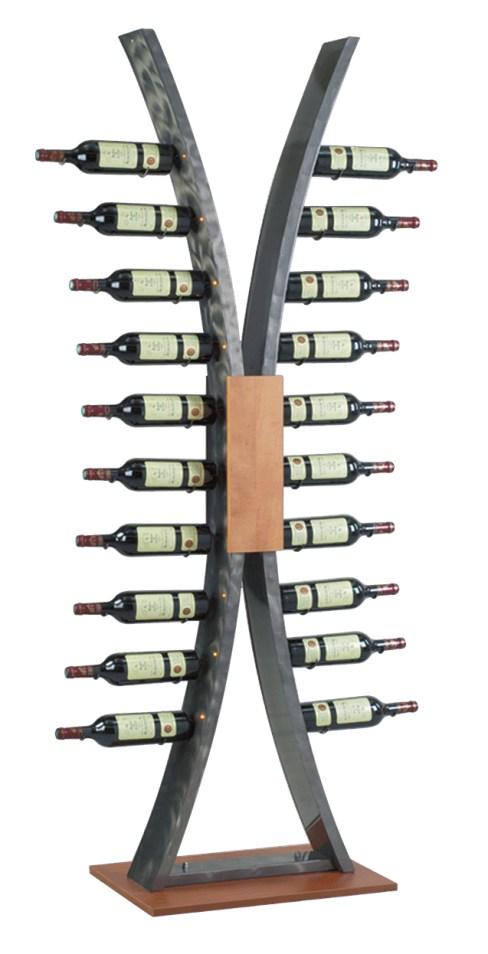 Presentoir de bouteille de vin fabrication VALIN