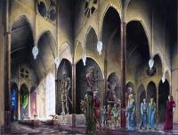 Túrin frente a Orodreth em Nargothrond