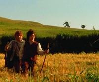 Frodo e Sam em direção a Mordor