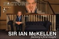 Ian McKellen na The Factory