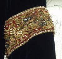 Vestido de Luto da Arwen - Detalhe do Bordado