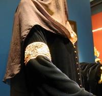 Vestido de Luto da Arwen - Detalhe do Véu