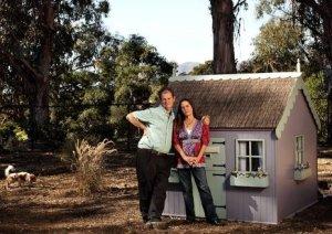 Simon Tolkien com sua esposa Tracy