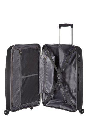 L'intérieur de la valise american tourister bon air : parfait pour ranger tous les vêtements