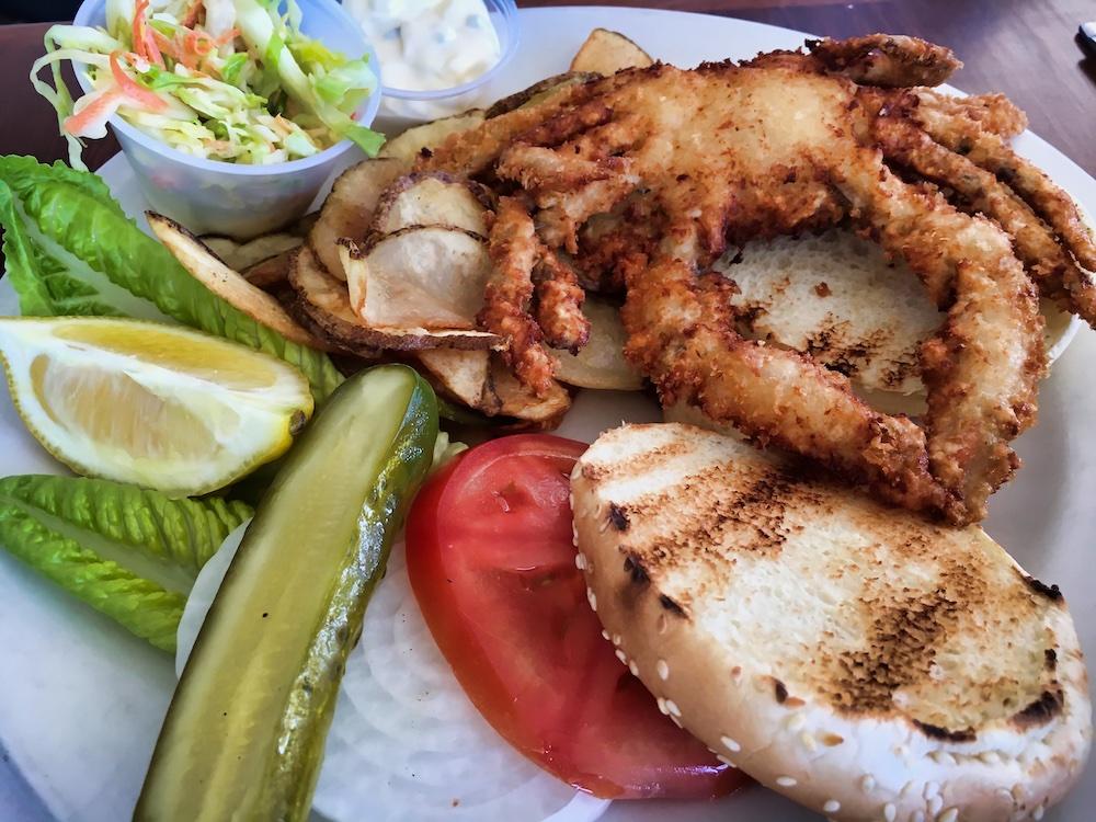 3 Days in Montauk - Soft Shell Crab