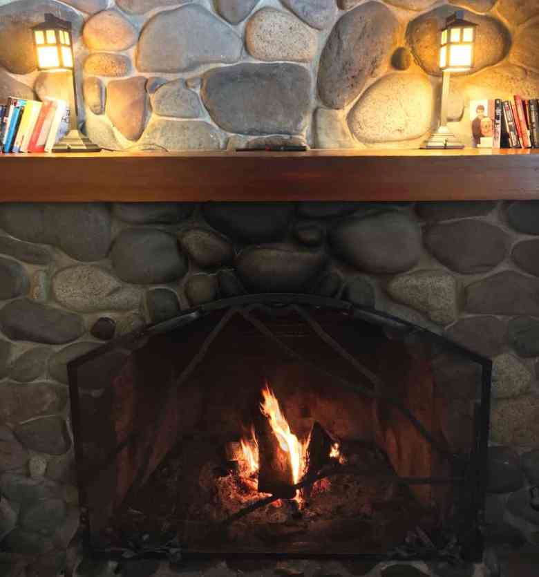 Rainier Winter Hike - Post-Hike Fireplace Warmup