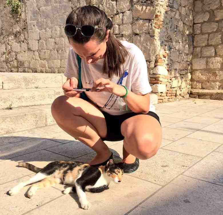Cat obsessed and proud. Dubrovnik is a great destination for cat lovers!