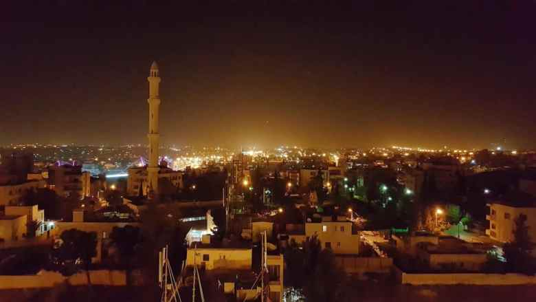 Jordan Itinerary - Amman at Night