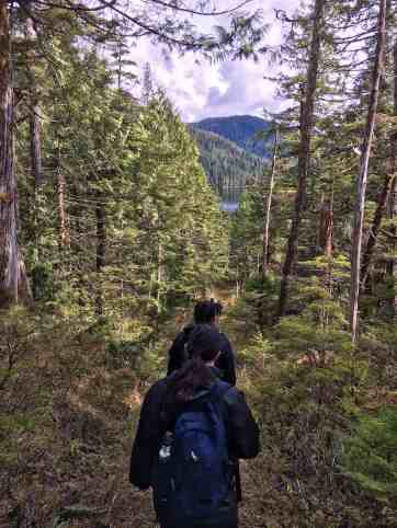 Hiking Bailey Bay Alaska UnCruise Adventures