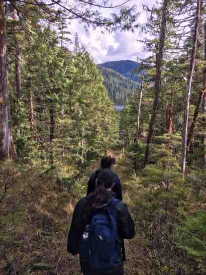 Hiking Bailey Bay Alaska UnCruise Adventures