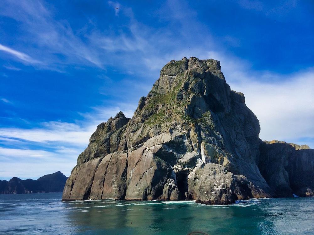 A seastack in Kenai Fjords National Park