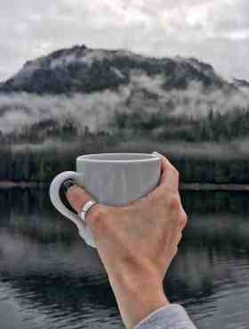 Coffee in Alaska Aboard UnCruise Adventures
