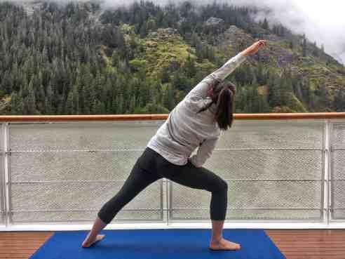 Morning Yoga in Alaska