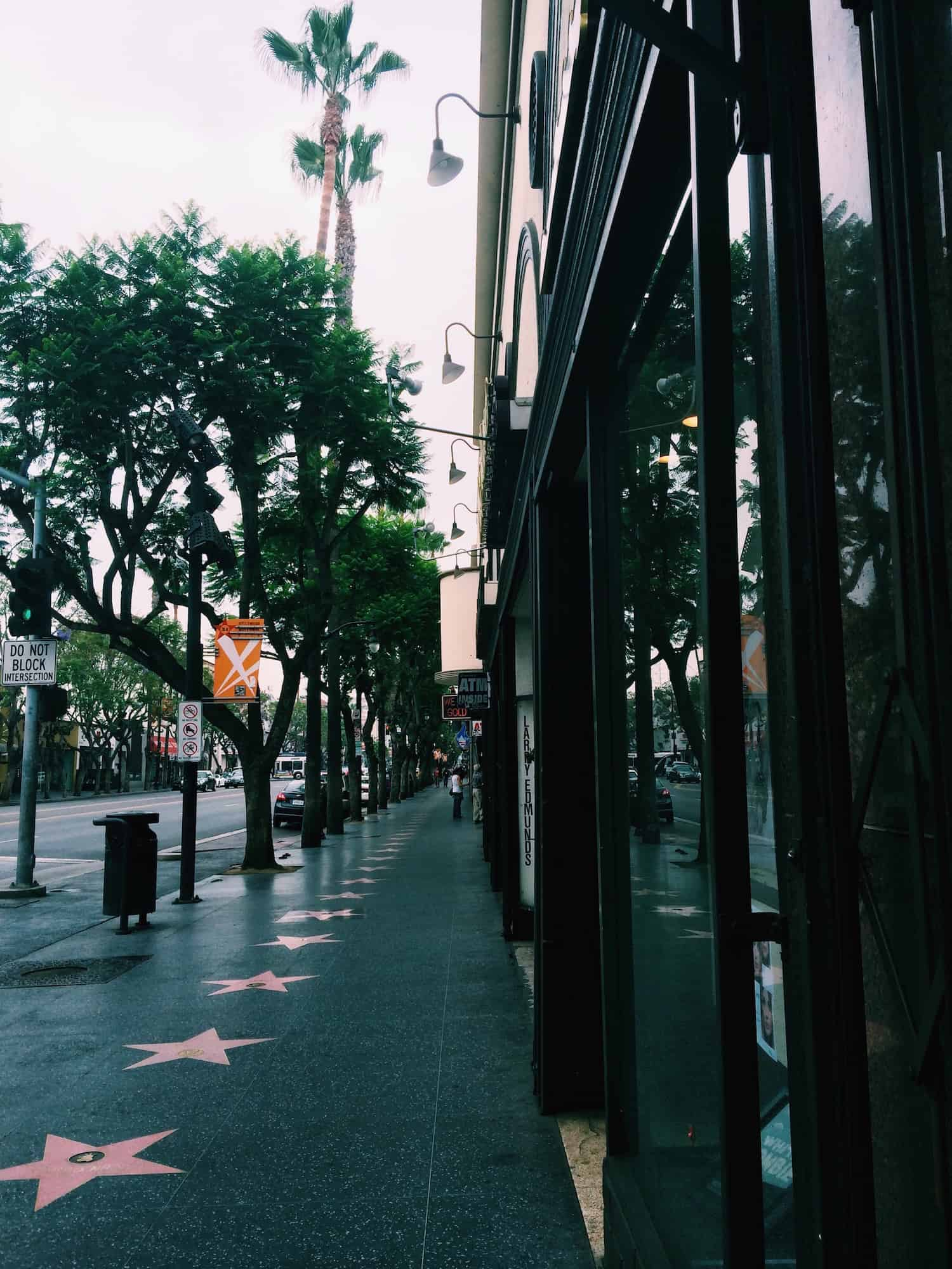 One Day in L.A. - Hollywood Walk of Fame