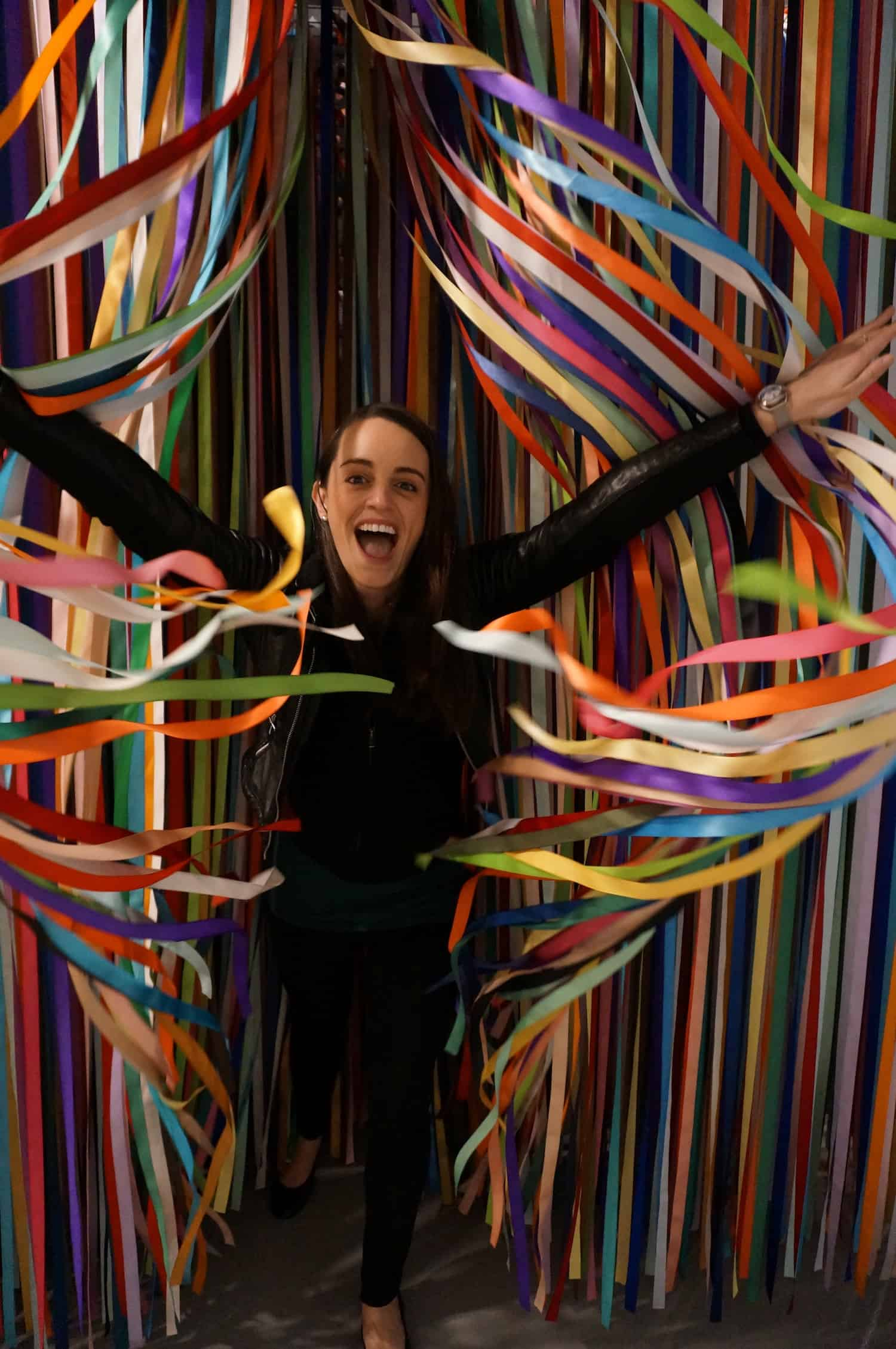 Valerie at Color Factory