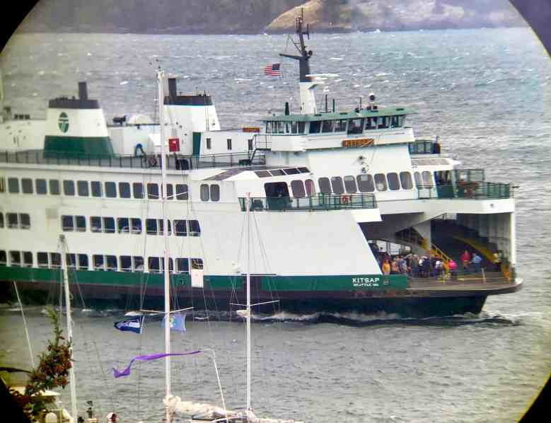 Visiting the San Juan Islands - Picture of Washington State Ferries