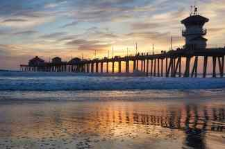 3 Days in Huntington Beach - Sunset
