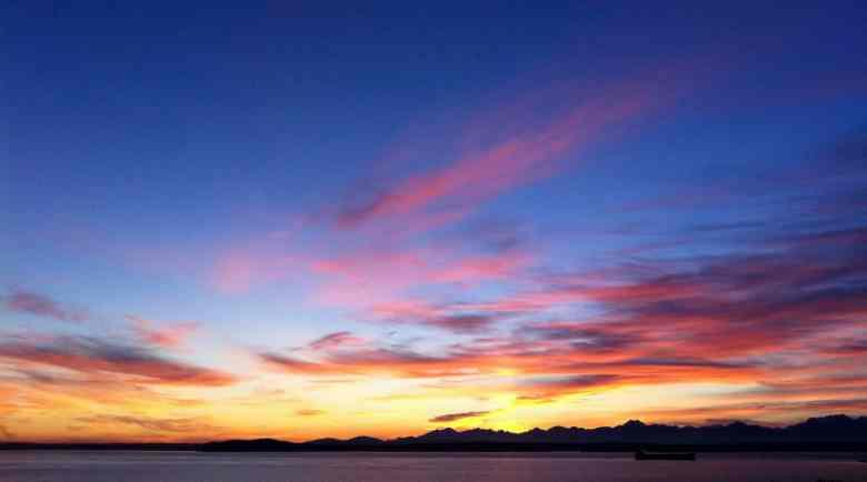 3 Days in Seattle - Elliott Bay Sunset