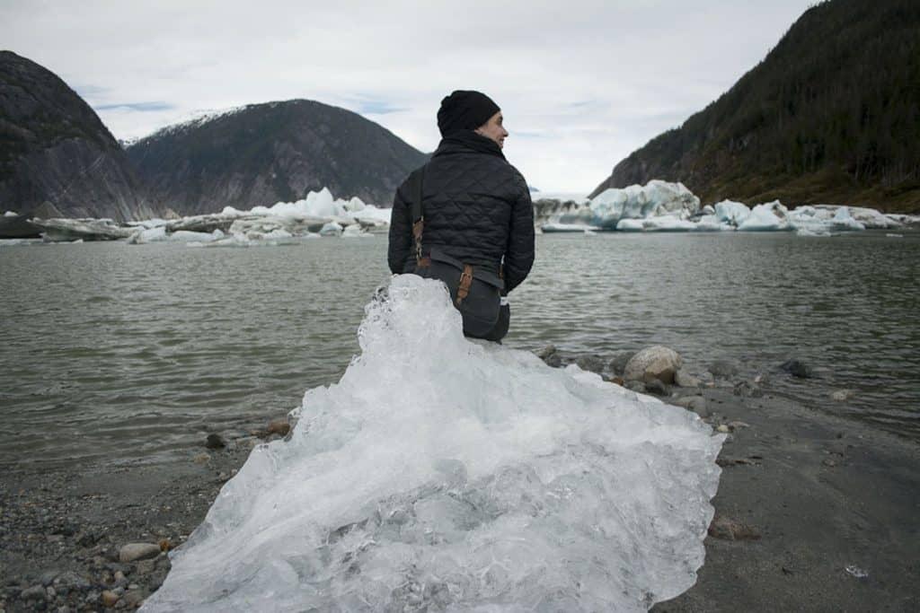 Pack for Alaska - Valerie on Iceberg
