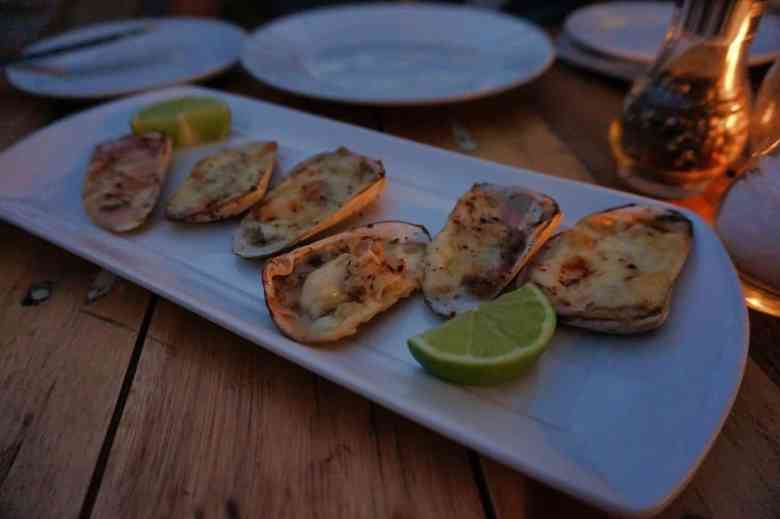 Chilean Food - Machas a la Parmesana